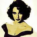 Elizabeth Taylor Poster Art by Florian Rodarte