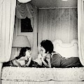 Elizabeth Taylor With Her Daughter by Henry Clarke