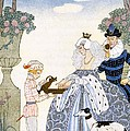 Elizabethan England by Georges Barbier