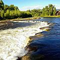 Elk River At Marabou Ranch by Gerald Blaine