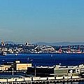 Elliot Bay Panorama by Benjamin Yeager