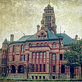 Ellis County Courthouse by Joan Carroll