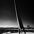 Els Pilons Sculpture By Antoni Rossello Til Salou Catalonia Spain by Joe Fox
