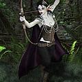 Elven Archer Female by Elle Arden Walby
