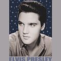 Elvis - Blue Sparkle by Brand A