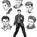Elvis Elvis Elvis by Murphy Elliott