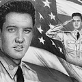 Elvis Patriot Bw Signed by Andrew Read