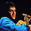 Elvis Presley 2 Painting by Paul Meijering