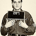 Elvis Presley - Mugshot by Digital Reproductions