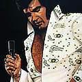 Elvis Presley Painting by Paul Meijering