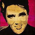 Elvis Singing The Blues by Robert Margetts