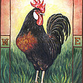 Elvis The Rooster by Linda Mears