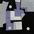 Ema Ube Abstraction by Mark Fearn