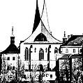 Emauzy - Benedictine Monastery by Michal Boubin