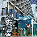 Embarcadero Buildings In San Francisco-california  by Ruth Hager
