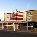 Emblazoned American Flag Silver Dollar Bar Eloy Arizona 2004 by David Lee Guss