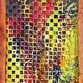 Embossed Blocks Encaustic by Bellesouth Studio