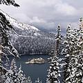 Emerald Bay In Winter by Egon Klementi