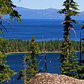 Emerald Bay -lake Tahoe by Russell  Barton
