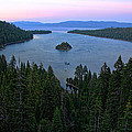 Emerald Bay Sunset by Randy Wehner Photography