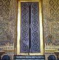 Emerald Buddha Temple Door by Bob Phillips