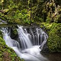 Emerald Falls by Erika Fawcett