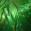 Emerald Flow by John Edwards