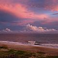 Emerald Isle Sunset by Debby Richards
