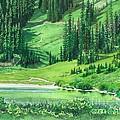 Emerald Lake by Barbara Jewell