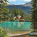Emerald Lake Lodge by Kerry Gergen
