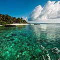 Emerald Purity. Kuramathi Resort. Maldives by Jenny Rainbow