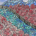 Emerald River Roses by Barbara St Jean