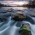 Emerald Rock by Davorin Mance