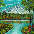 Emerald Valley by Brenda  Drain