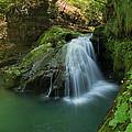 Emerald Waterfall by Davorin Mance