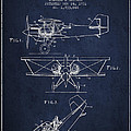 Emergency Flotation Gear Patent Drawing From 1931 by Aged Pixel