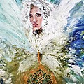 Emerging Angel Of Light by Alma Yamazaki