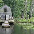 Emerson Boathouse Concord Massachusetts by Amy Porter