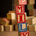 Emily - Alphabet Blocks by Edward Fielding