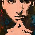 Eminem - Stylised Pop Art Poster by Kim Wang