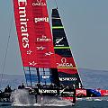 Emirates Team New Zealand America's Cup Challenger by Steven Lapkin