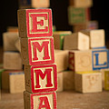 Emma - Alphabet Blocks by Edward Fielding