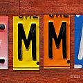Emma License Plate Name Sign Fun Kid Room Decor by Design Turnpike