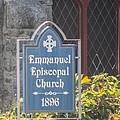 Emmanuel Episcopal Church  by Robert Gross