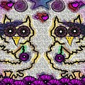 Emo Owls by Pepita Selles