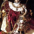 Emperor Napoleon I On His Imperial Throne by War Is Hell Store
