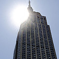 Empire State At Hign Noon by Bill Cannon