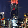 Empire State Buidling On The Water by Tim Gilliland