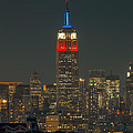 Empire State Building 911 Tribute by Clarence Holmes