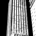 Empire State Building In Constrasting White by Elizabeth Rye